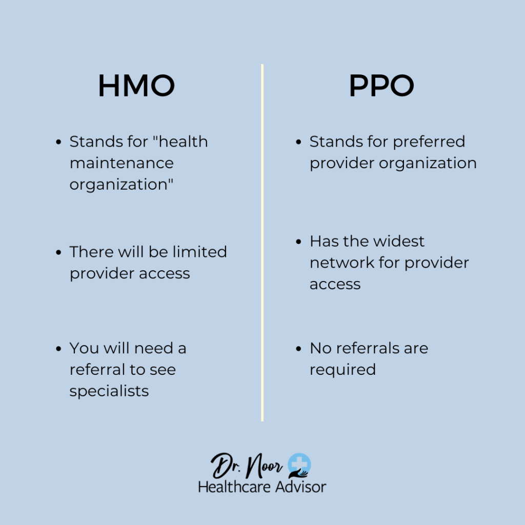 what is a hmo and ppo plan