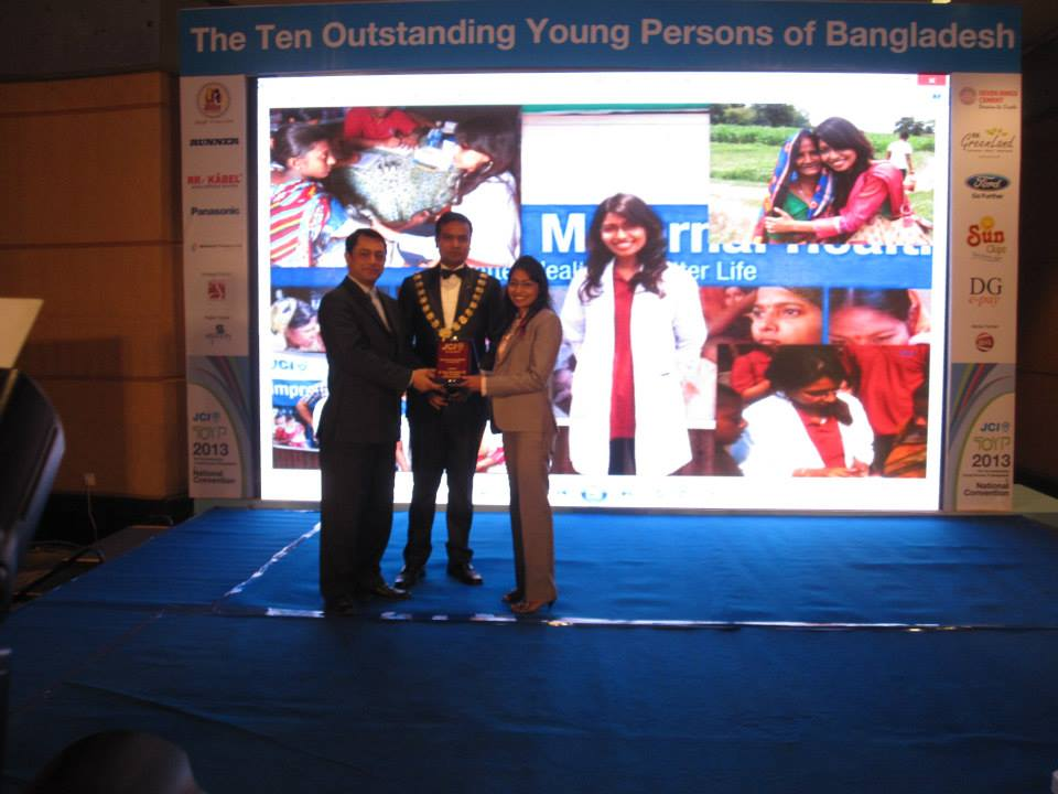 JCI Bangladesh award ceremony