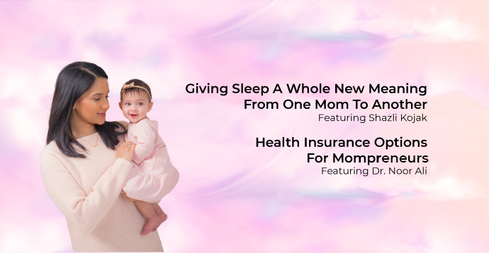 Giving Sleep A Whole New Meaning: From One Mom To Another Featuring Shazli Kojak