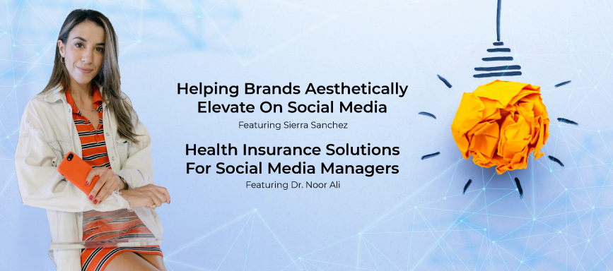 Helping Brands Aesthetically Elevate on Social Media Featuring Sierra Sanchez