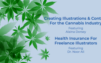 Creating Illustrations & Content For the Cannabis Industry Featuring Alaina Dorsey